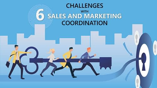What are the 6 B2B Challenges with Marketing and Sales Coordination?